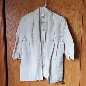 Lauren conrad size 10 cream blazer